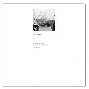 Beispielseite zur Publikation zum Thema Fischerei in Dornum im Layout