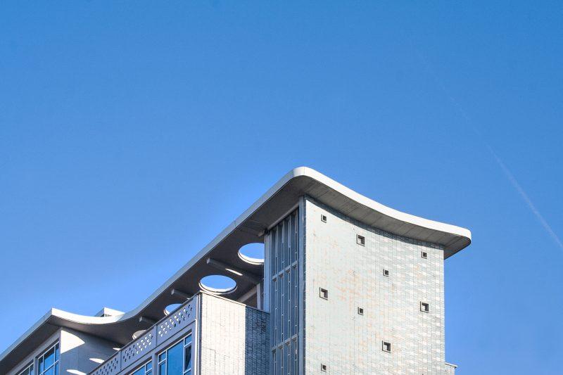Dachabschluss im Gesundheitsamt in Dortmund
