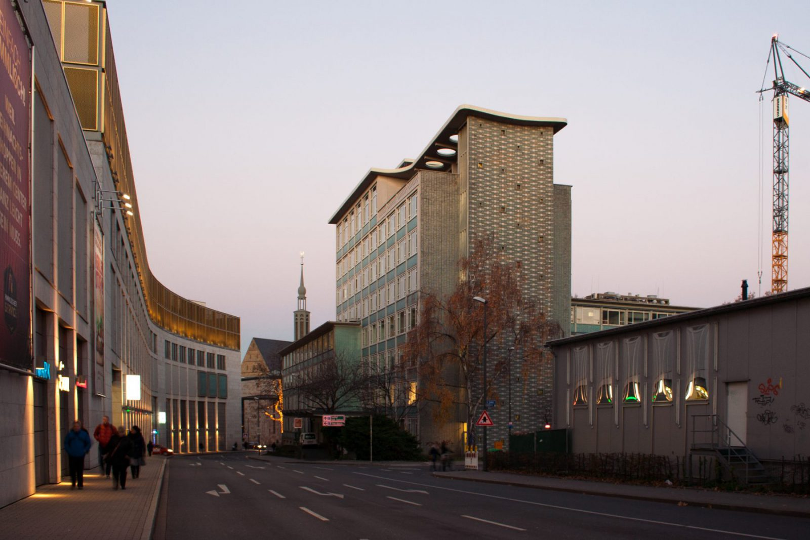 Abenddämmerung vom Gesundheitsamt in Dortmund