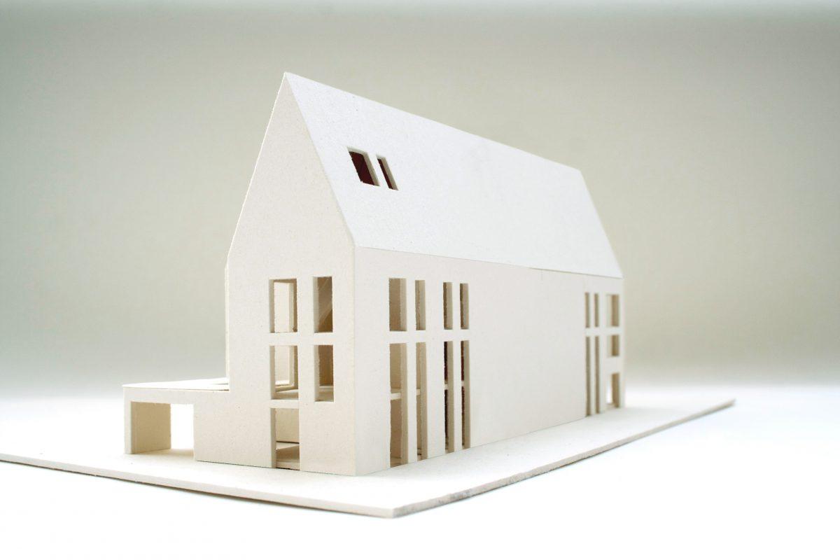 Modellfoto zum Schriftstellerkolleg in Luebeck