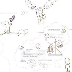 icon Prozessgestaltung Piktogramm