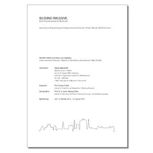 Beispielseite zur Publikation zum Thema Stadtgymnasium in Dortmund im Layout