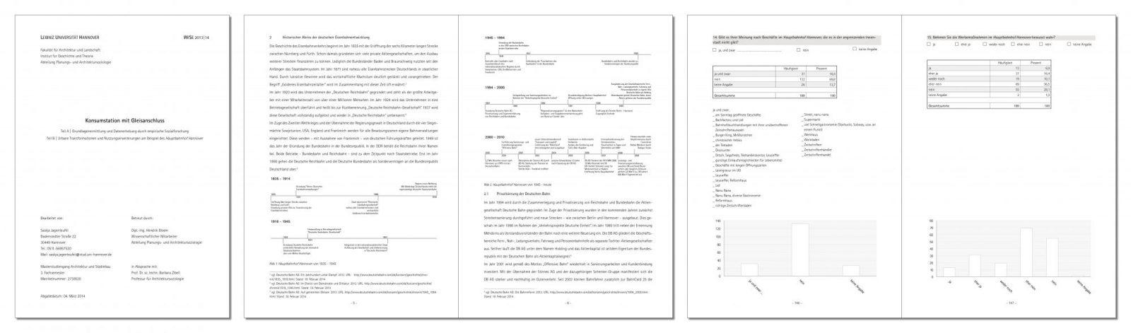 Übersichtblatt Publikation zum Thema Konsumstation mit Gleisanschluss