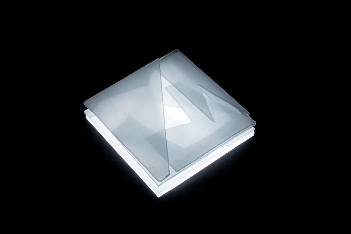 Modellfoto Plexiglas transparent